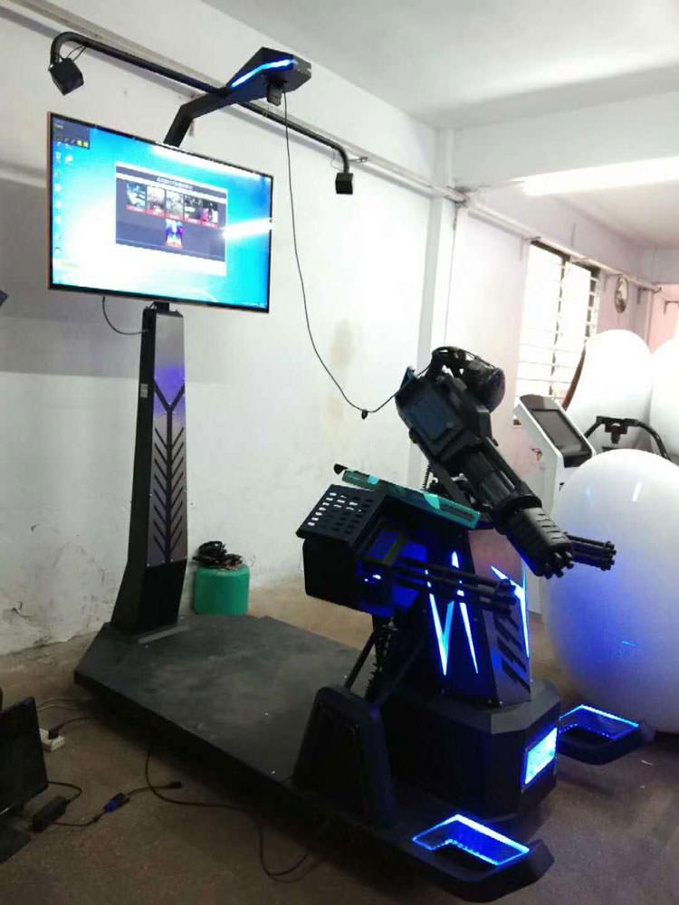 幻影星空二手VR暗黑枪神加特林枪击打枪htc体验馆互动游戏机设备